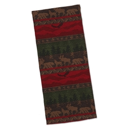 Wilderness Stripe Jacquard Dish Towel - Set of 2
