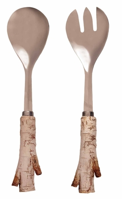 Birch Salad Serving Set