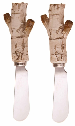 Birch Spreaders - Set of 2
