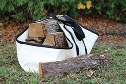 Woodland Canvas Log Carrier