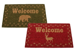 Woodland Welcome Rugs - Bear - Deer