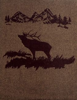 Rocky Mountain Elk Throw