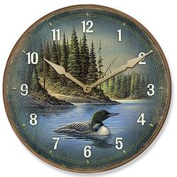 North Round Loon Clock - 11