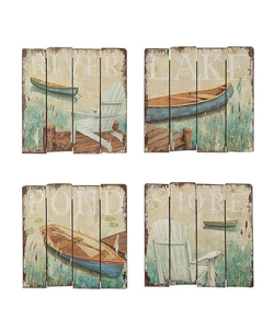 Lake Image Wall Panel - 18