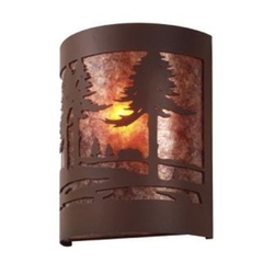Timber RIdge Sconce - CABIN