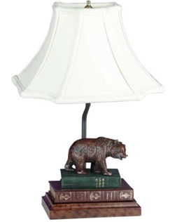 Bear on Books Lamp