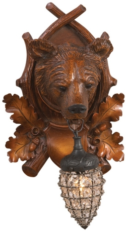 Aspen Bear Wall Sconce