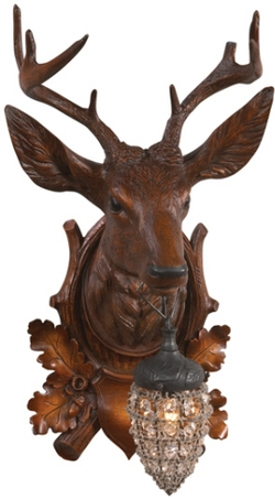 Aspen Stag Wall Sconce