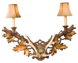 Antlers Wall Sconce
