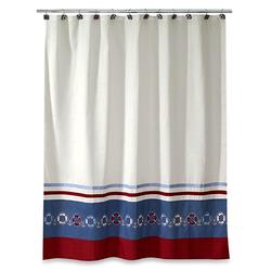 Life Preserver Shower Curtain