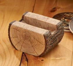 Log Coaster Holder