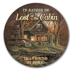 Lost at the Cabin Coasters - Set of 4