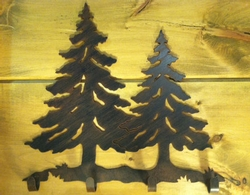 Pine Tree Coat Rack