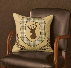Deer Crest Pillow