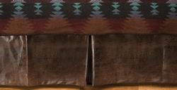 Ranger Brown Tailored Bedskirt