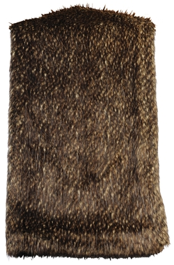 Lynx Faux Fur Throw - 54