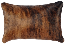 Dark Brindle Accent Pillow