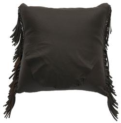 Deerskin Chocolate Pillow