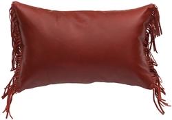 Whitebird II Leather Pillow