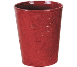 Savannah Waste Basket - Red