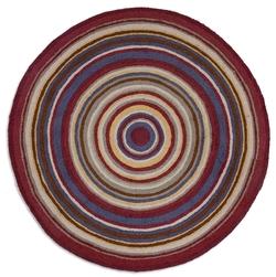 Bullseye 5' Round Rug