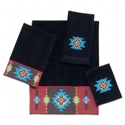 Indian Beads Towel Set - Hand and Bath