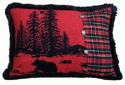 Wooded River Bear Alternate Accent Pillow