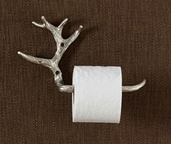 Antler Toilet Tissue Holder