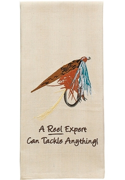A Reel Expert Can Tackle Towel