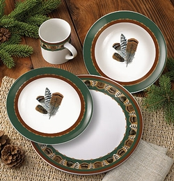 Feather Dinnerware - 16 Piece Set