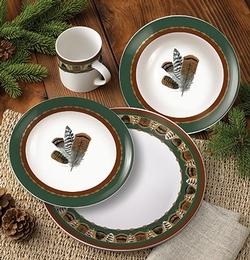 Feather Dinnerware - 16 Piece Set