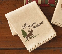 Just Moose Behavin' Dish Towel
