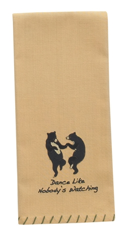 Dance Like Nobody's Watching Dish Towel