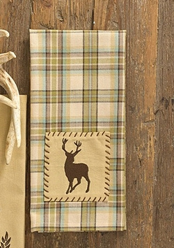 Deer Patch Dish Towel