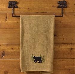 Bear Towel Bar - 24