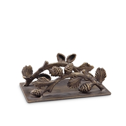 Lodge Collection Pinecone Napkin Holder