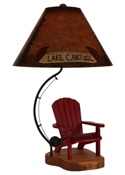 Adirondack Chair Lamp - Customized