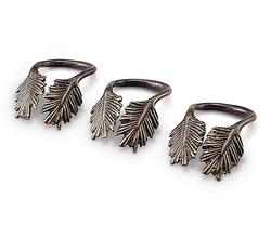 Pine Needle Napkin Ring - Set of 4