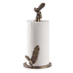 Bear & Pine Paper Towel Holder