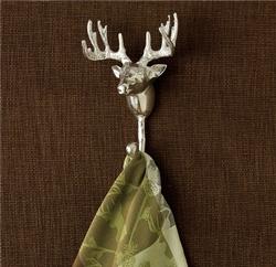 Deer Head Single Hook