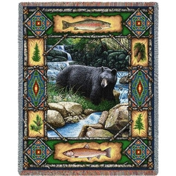 Bear Lodge Throw