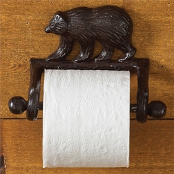 Bear Toilet Tissue Holder
