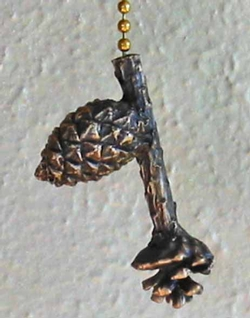 Lodgepole Pinecone Chain Pull
