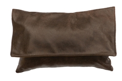 Leather Pillow 12