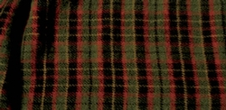 Wooded River 4 Plaid Bedskirt - Gathered