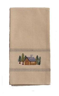 Rustic Cabin Furnishing Towels