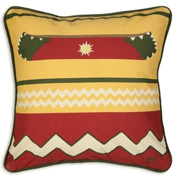 Sun Canoe Pillow - 18