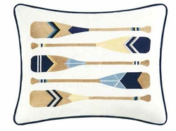 Boat Oars Pillow - 12