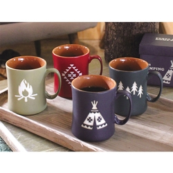 Tepee Coffee Mug - As Featured in Country Living