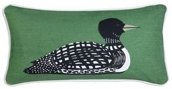 Loon Canvas Pillow 12